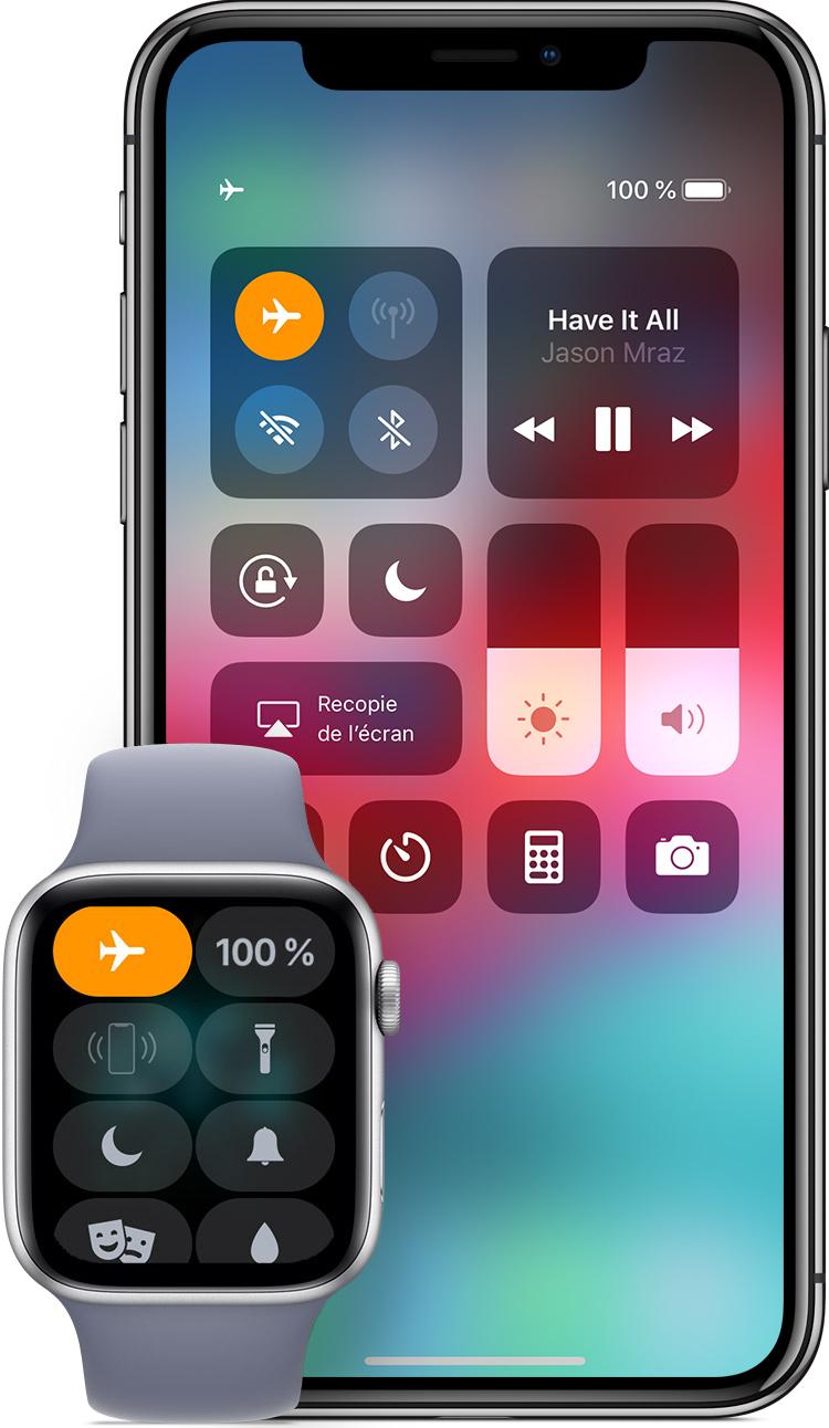 8cabab4eb Utilisation du mode Avion sur votre iPhone, iPad, iPod touch et Apple Watch