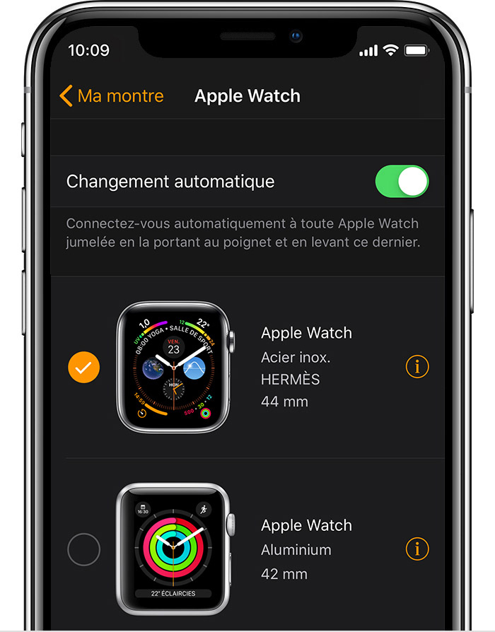 Apple Watch en aluminium 42 mm de John dans l'app Watch