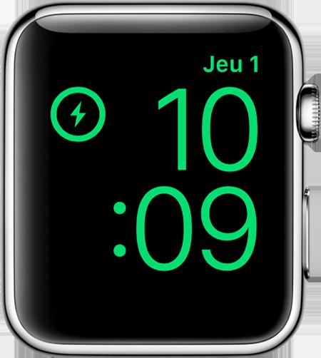 Si votre Apple Watch ne se charge pas ou ne s'allume pas