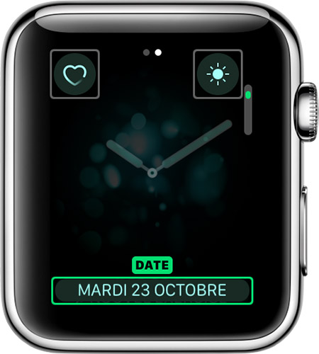 Complication de date pour Breathe watch face.