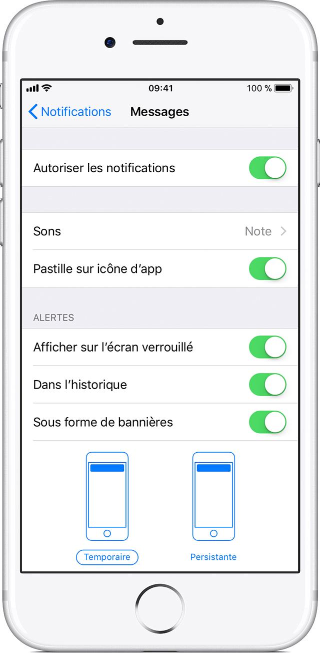 comment activer la localisation iphone 6s Plus