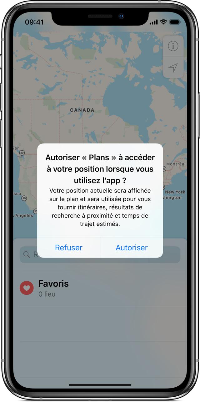 fleche localisation iphone 8 Plus