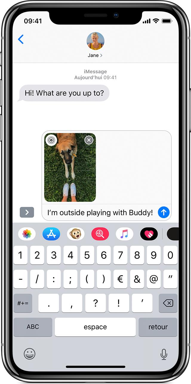 Envoi De Messages Audio Photo Et Vidéo Depuis Votre Iphone