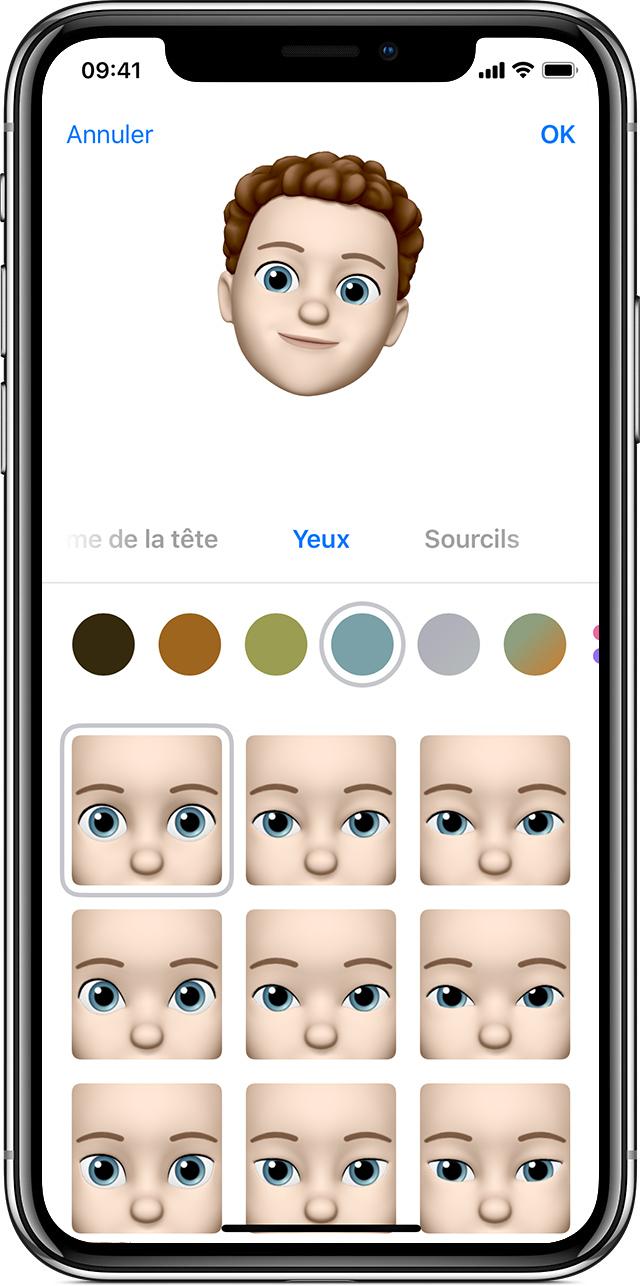 utiliser des memoji sur votre iphone x ou votre ipad pro