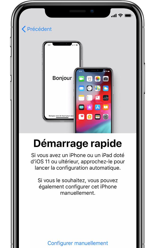 Premiere utilisation iphone 7 neuf