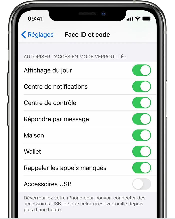 chargeur iphone déverouillez iphone pour utiliser des accessoires