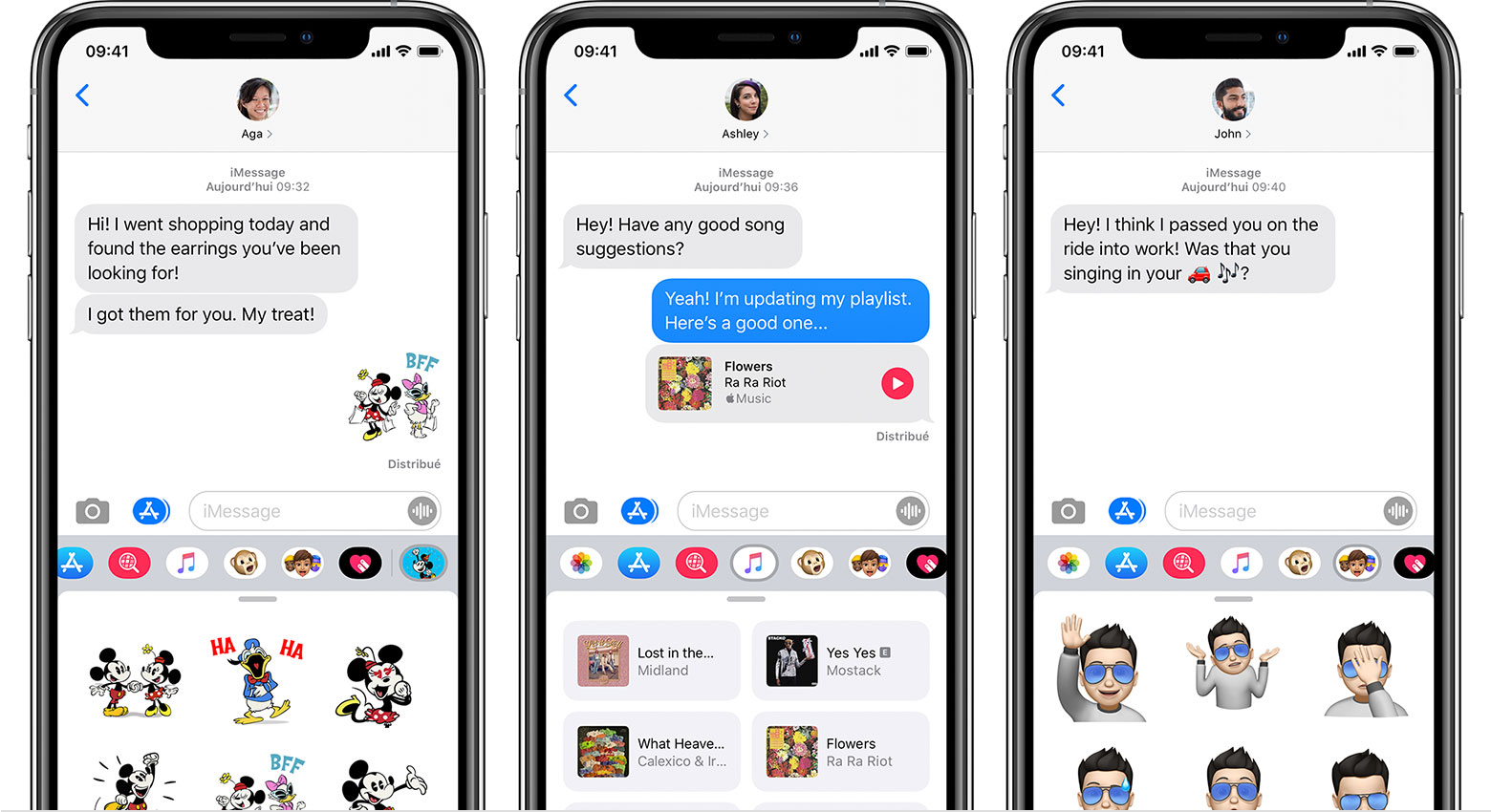 Apps iMessage