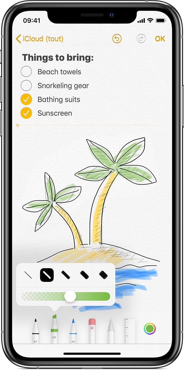 Dessiner Avec Notes Sur Votre Iphone Ipad Ou Ipod Touch