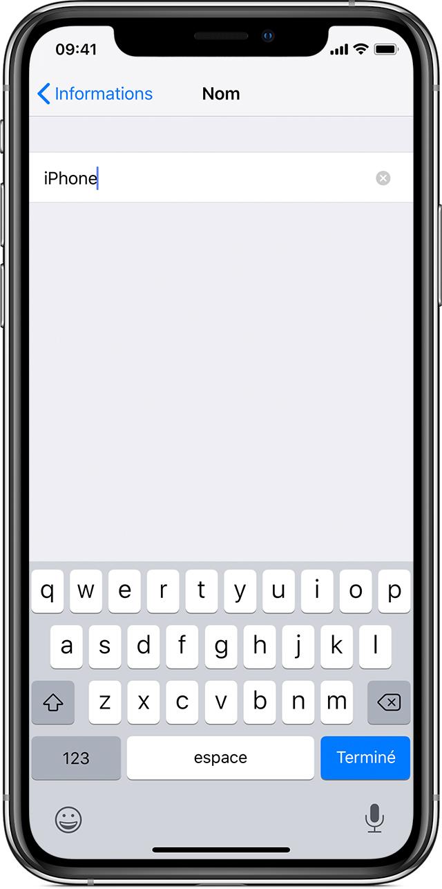 Modification du nom de votre iPhone, iPad ou iPod à l'aide ...