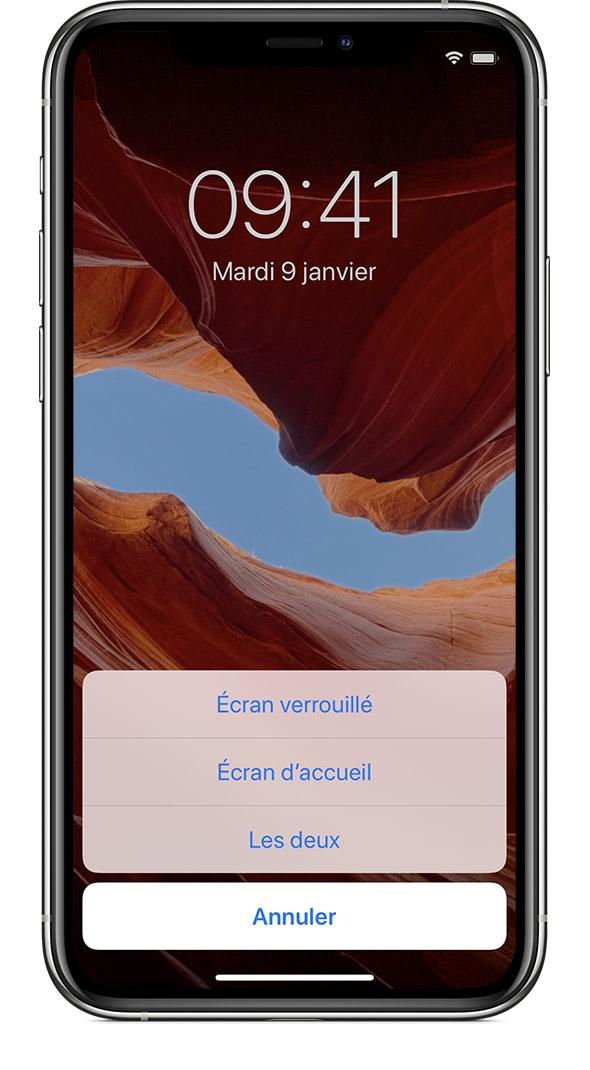 Changer Le Fond D Ecran De Votre Iphone Assistance Apple