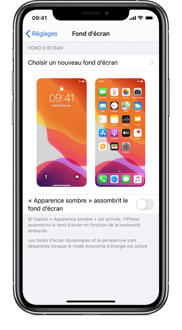 foto de Changer le fond d'écran de votre iPhone - Assistance Apple