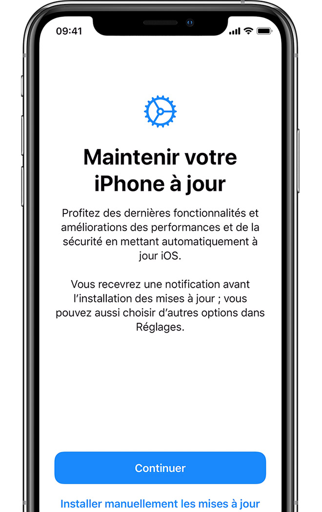 Configuration De Votre Iphone Ipad Ou Ipod Touch