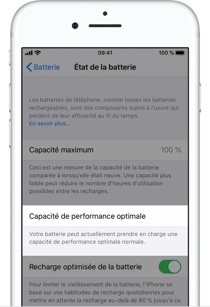 Batterie Et Performances De L Iphone Assistance Apple