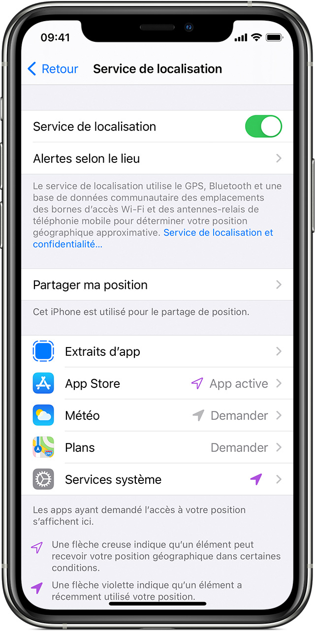 application rencontre geolocalisation iphone)