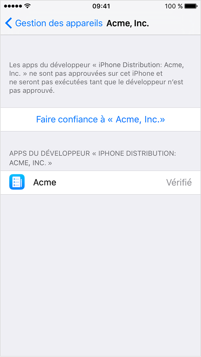 installateur une application ipad sur iphone