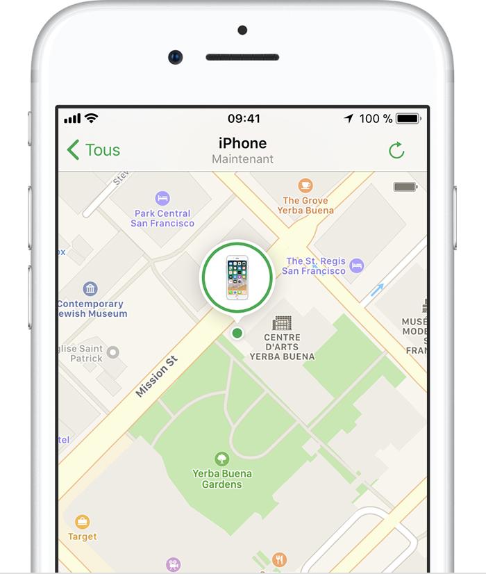 comment localiser iphone eteint avec imei