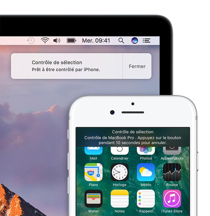 surveiller mac avec iphone