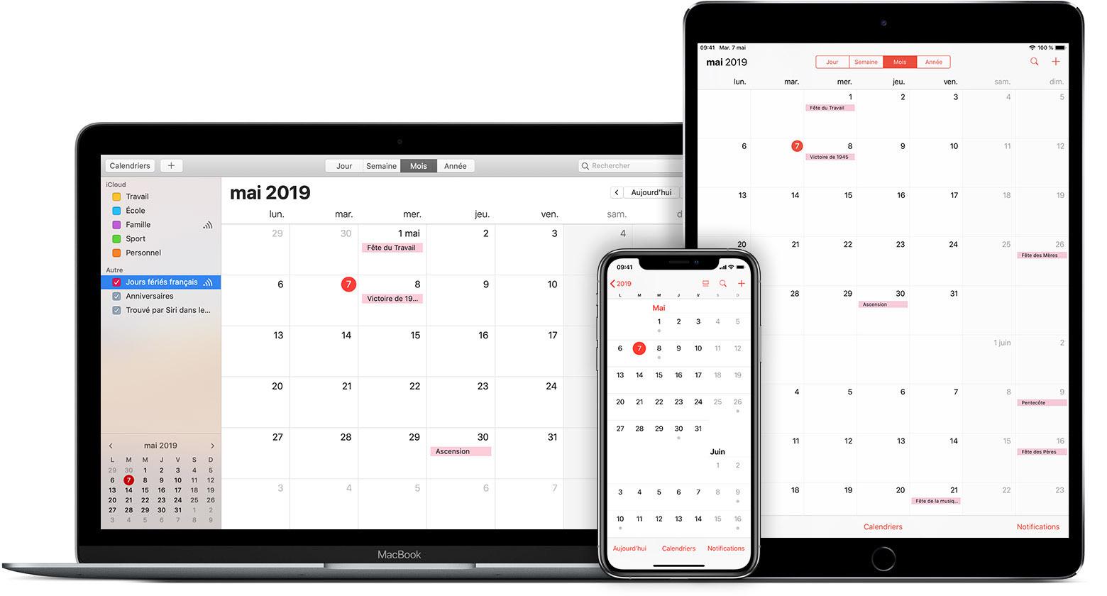 Synchroniser Calendrier Outlook Avec Iphone.Utilisation Des Abonnements Aux Calendriers Icloud