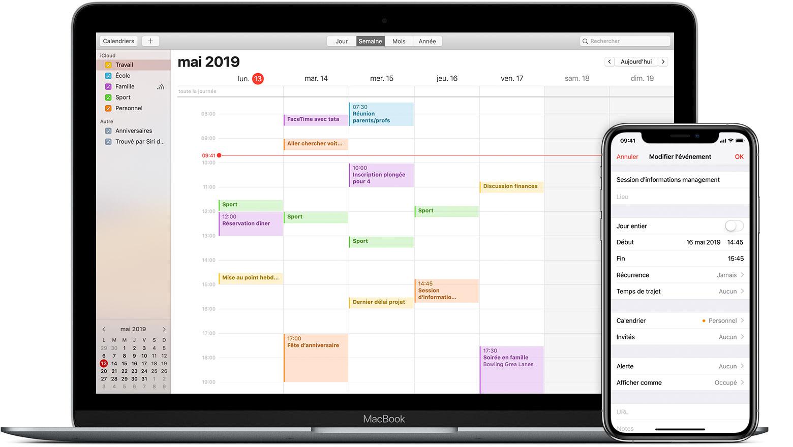 Synchroniser Calendrier Outlook Avec Iphone.Synchronisation De Votre Calendrier Avec Icloud Assistance