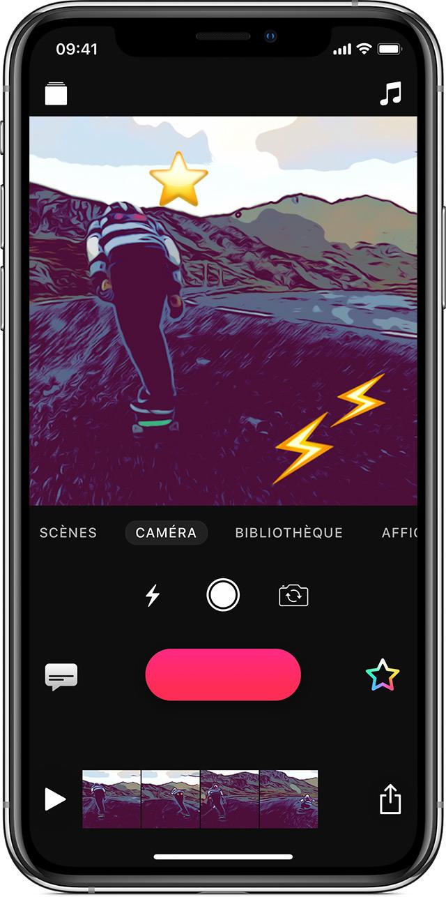 Ajouter Des Emoji A Votre Video Dans Clips Sur Iphone Ipad Ou Ipod Touch Assistance Apple
