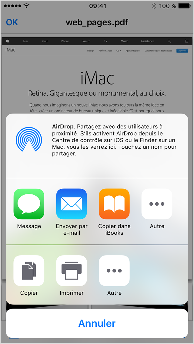 comment mettre ibooks dans icloud