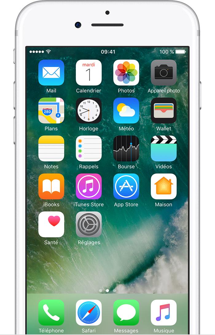 Prendre et modifier des photos avec votre iphone ipad et for Prendre photo ecran