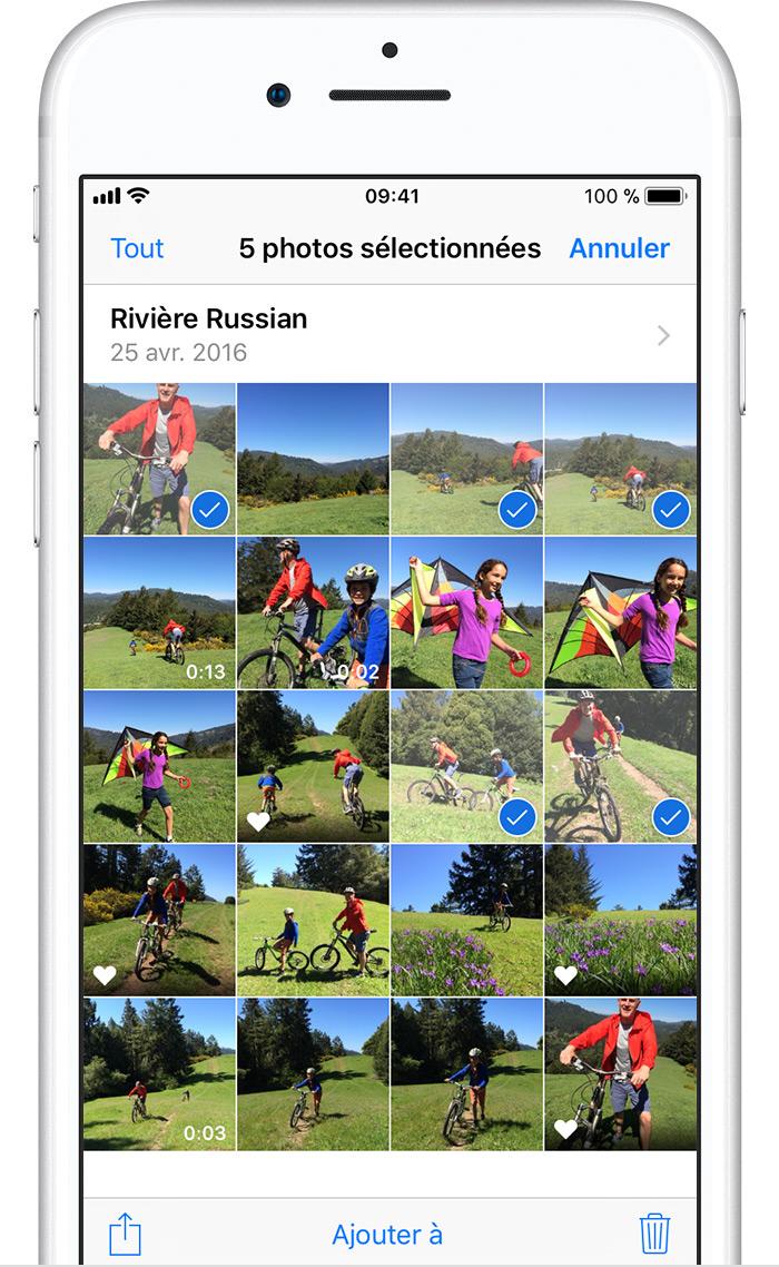 suppression de photos de votre iphone ipad ou ipod touch assistance apple. Black Bedroom Furniture Sets. Home Design Ideas