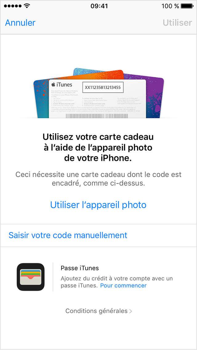 g n rateur des codes de carte cadeau itunes gratuite mars geek tech france. Black Bedroom Furniture Sets. Home Design Ideas