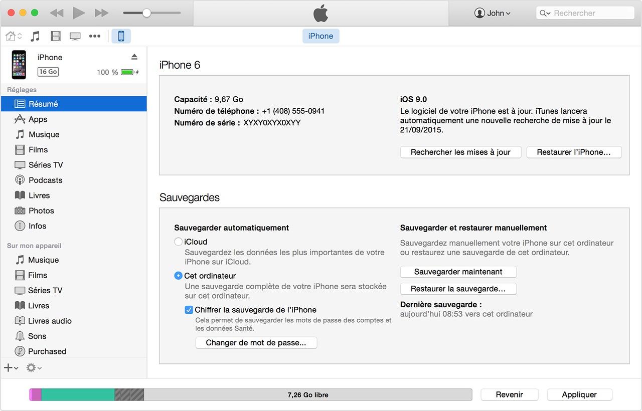 enregistrer fichier pdf sur ipad