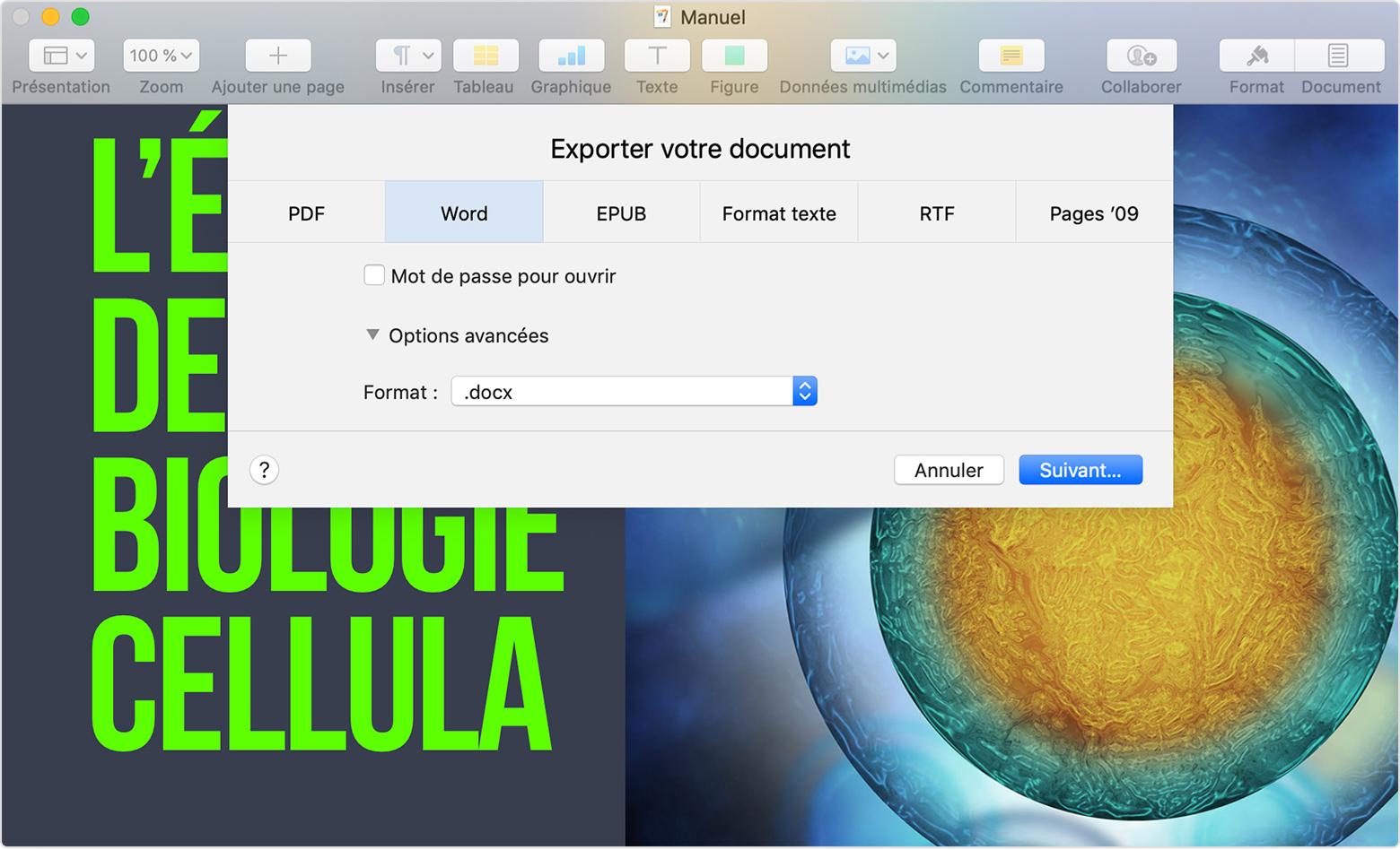 convertir fichier pdf en word pour mac gratuit