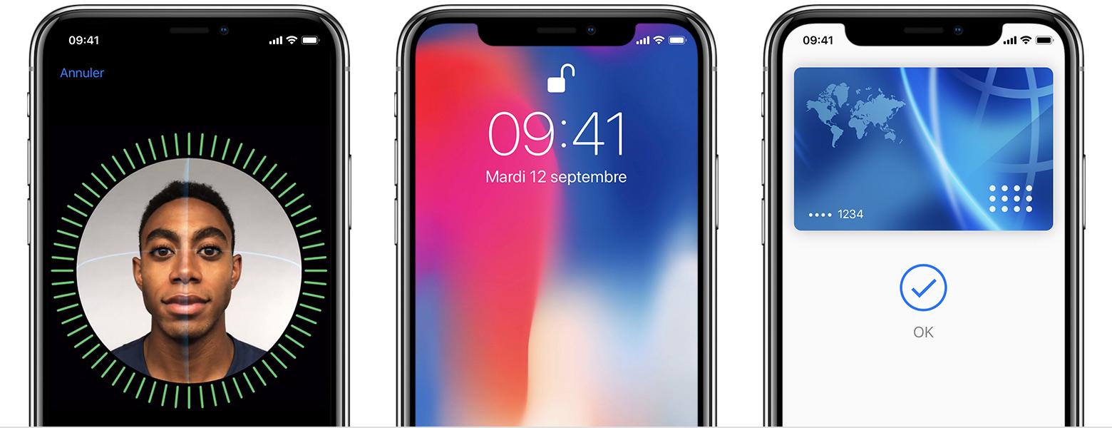 Configurer Iphone X