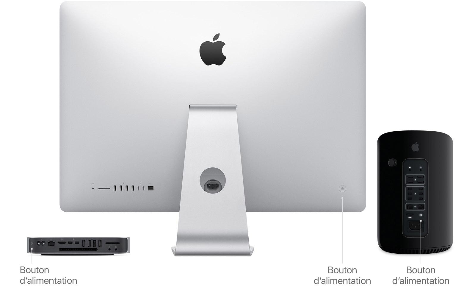 Comment allumer ou éteindre votre mac assistance apple