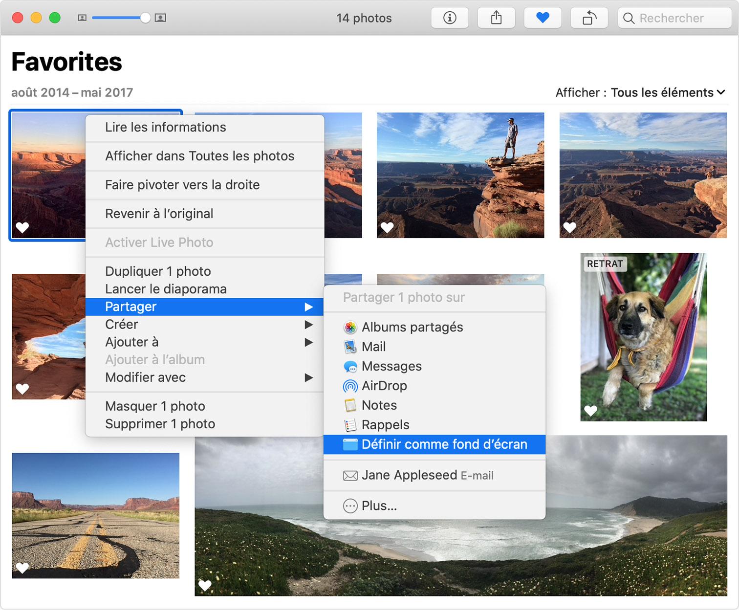 Modification De L Image Arriere Plan Du Bureau De Votre Mac Assistance Apple