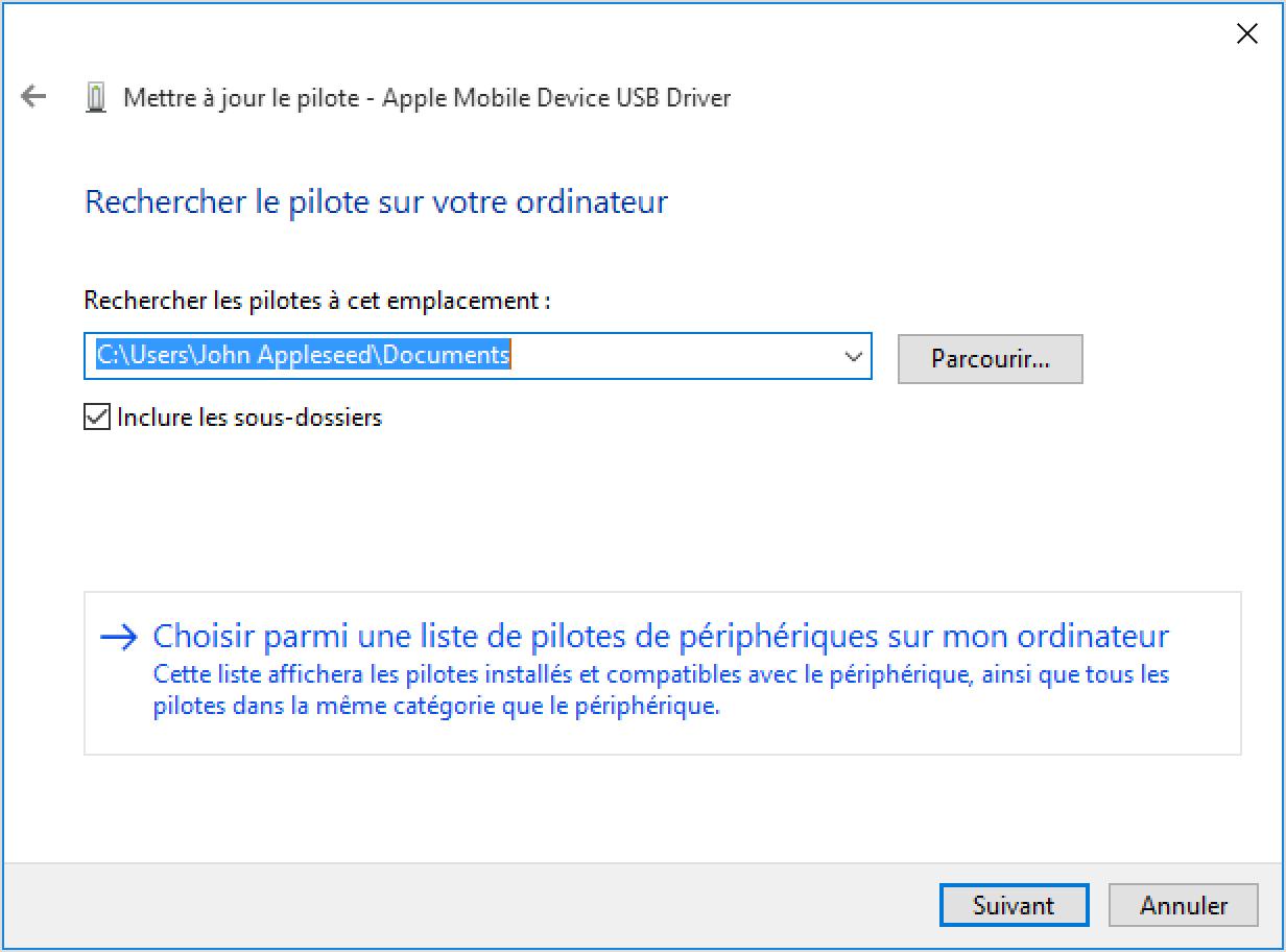 installateur de support de périphérique mobile apple