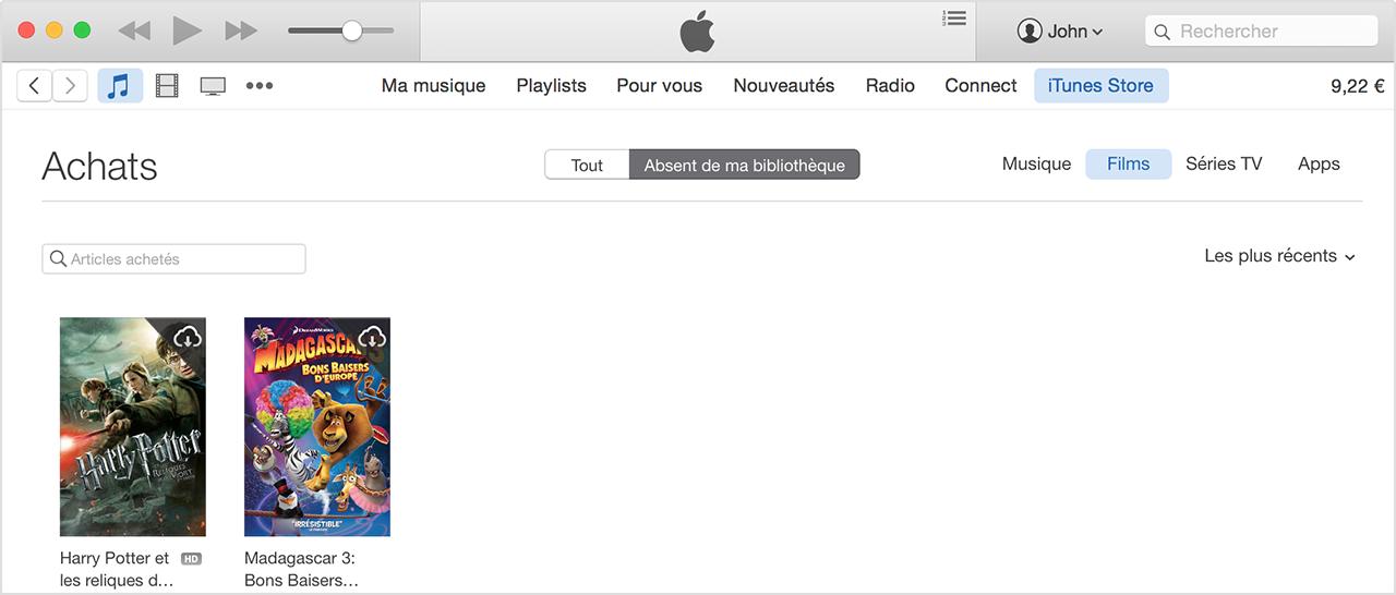 iTunes Apple TV téléchargement lent