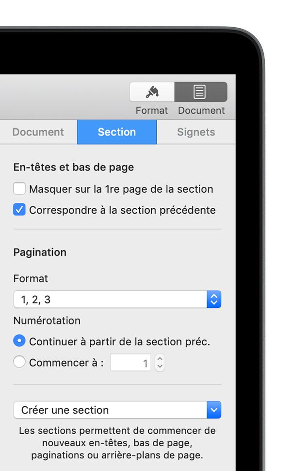 Procédure à suivre pour ouvrir un fichier PDF avec Pages (macOS 10.14 Mojave inclus)