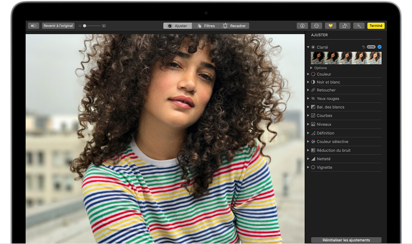Comment Retoucher Des Photos Sur Votre Mac Assistance Apple