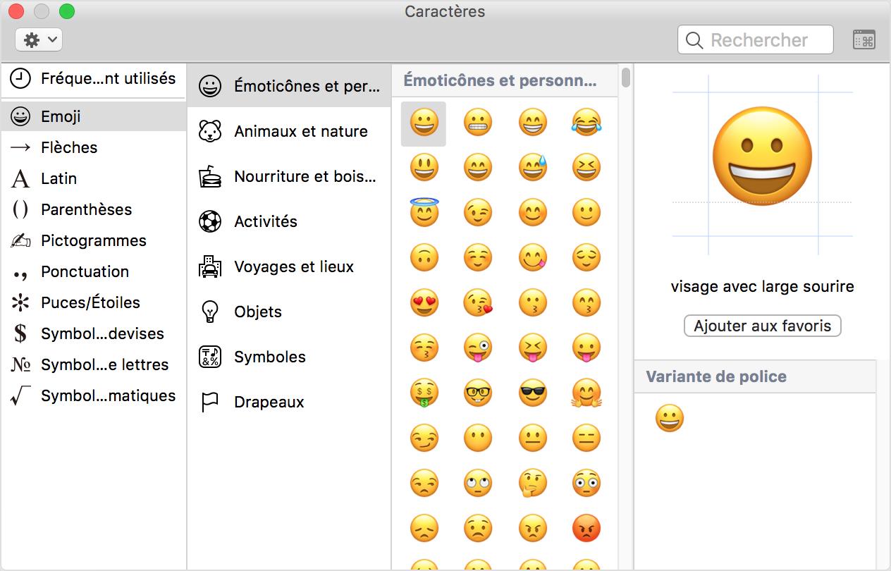 comment saisir les accents  les caract u00e8res emoji et les symboles sur votre mac