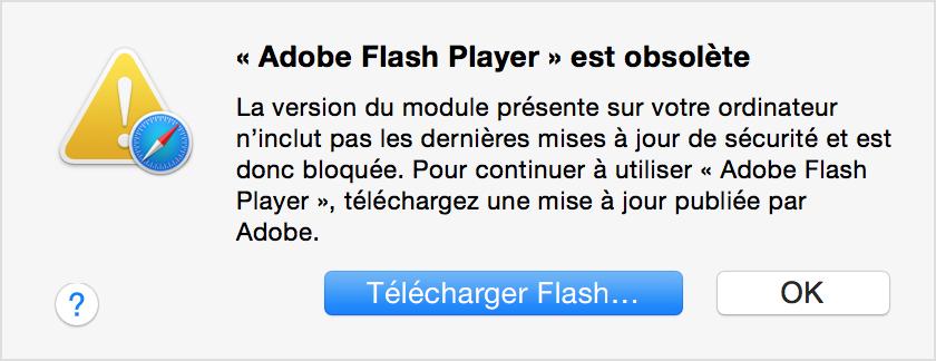 Pour mettre à jour Flash Player suos MAC Yosemite_safari_download_flash