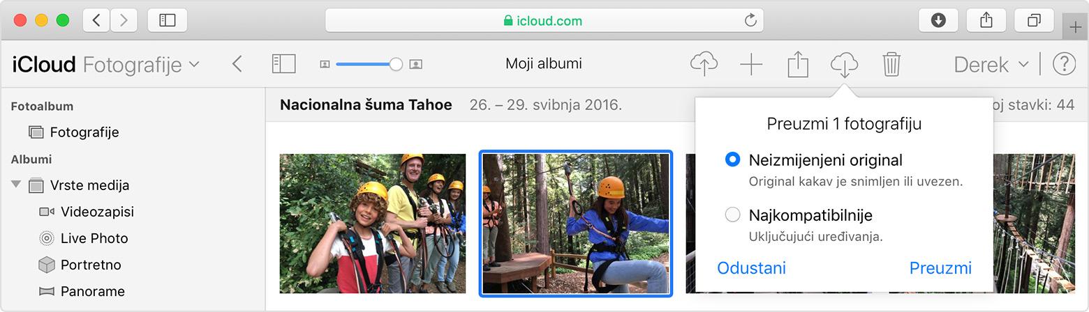icloud fotoalbum