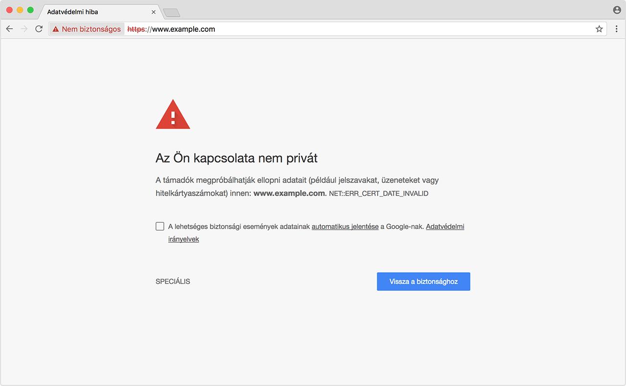 A webhelyek nem töltődnek be - hibaelhárítás és hibaüzenetek javítása