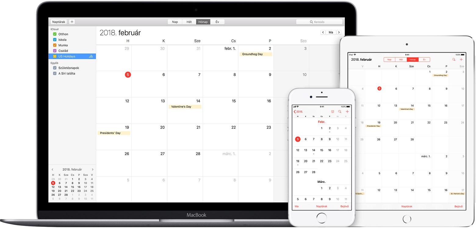 ipad naptár iCloud: A naptár feliratkozások   Apple Támogatás ipad naptár