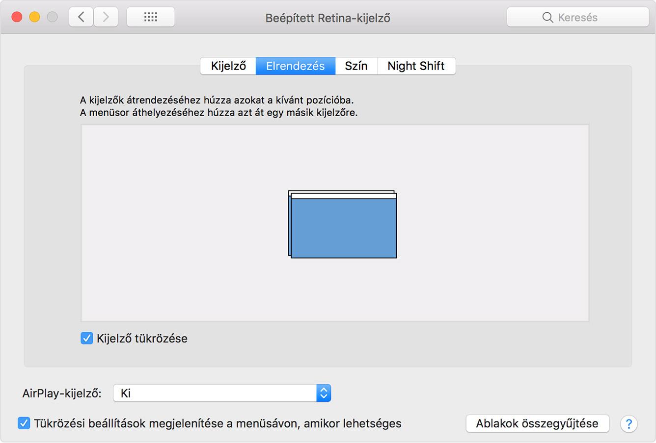 Csatlakoztathat egy Mac képernyőt egy számítógéphez