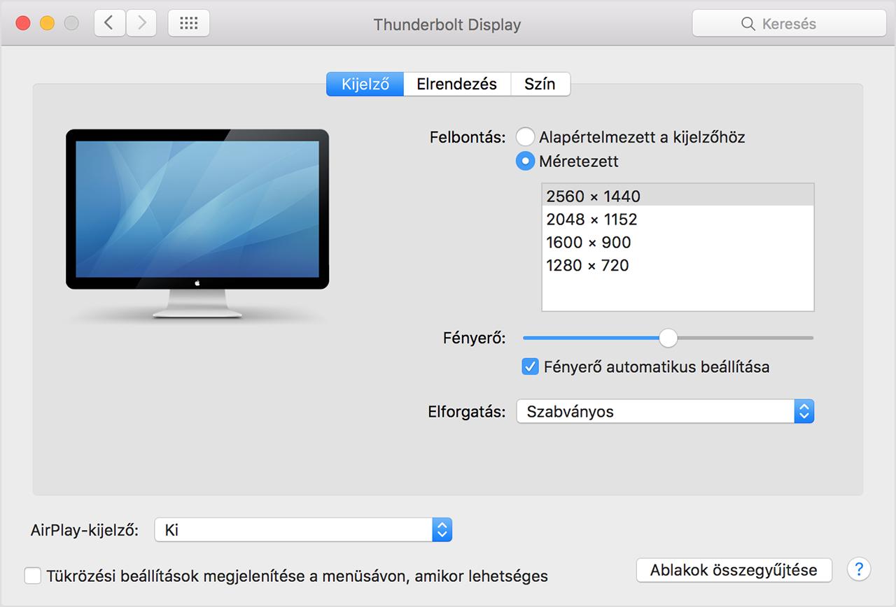 Dupla képernyő csatlakoztatása