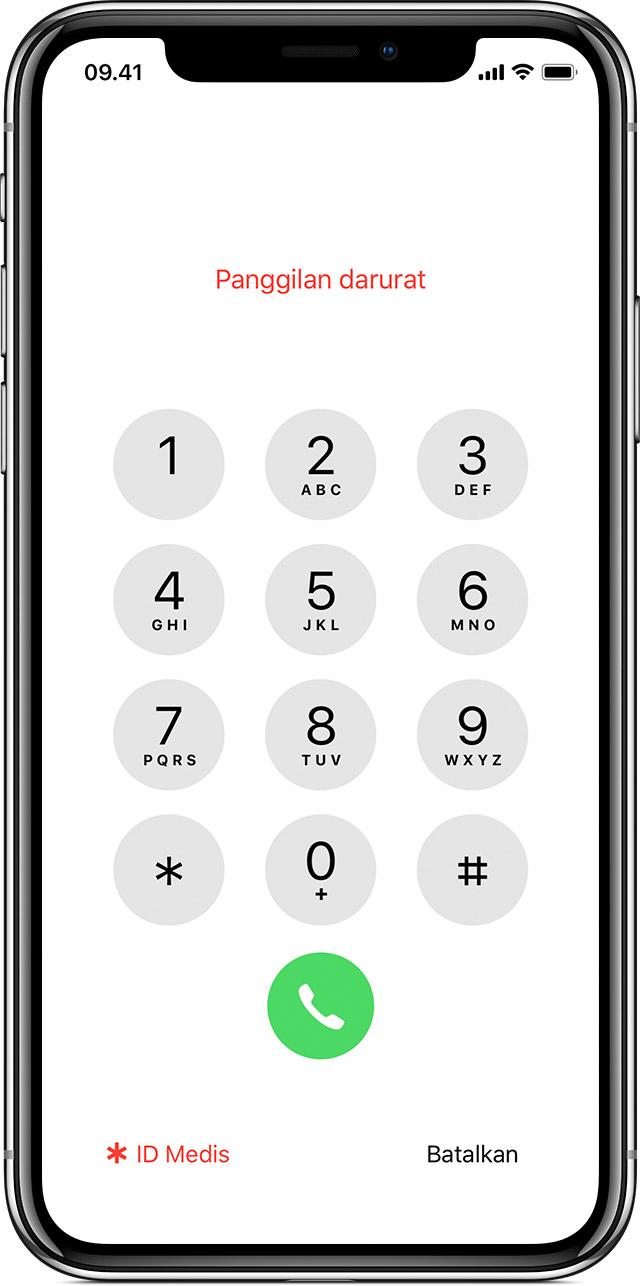 Membuat Panggilan Darurat Dari Iphone Yang Terkunci Apple Support