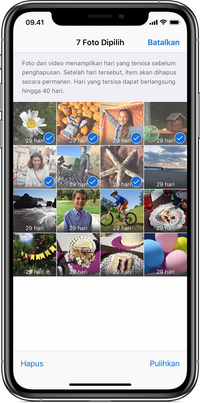 Mendapatkan Bantuan Terkait Foto Yang Hilang Apple Support