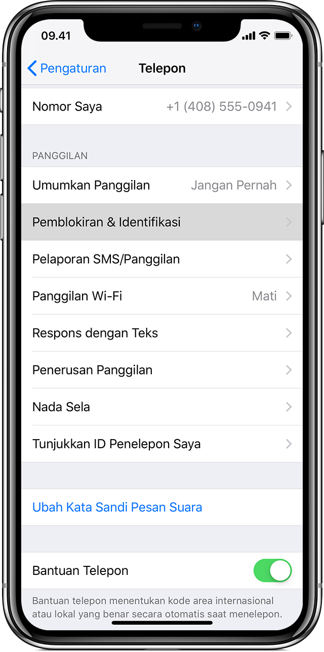 Mendeteksi Dan Memblokir Panggilan Telepon Spam Dengan App Pihak