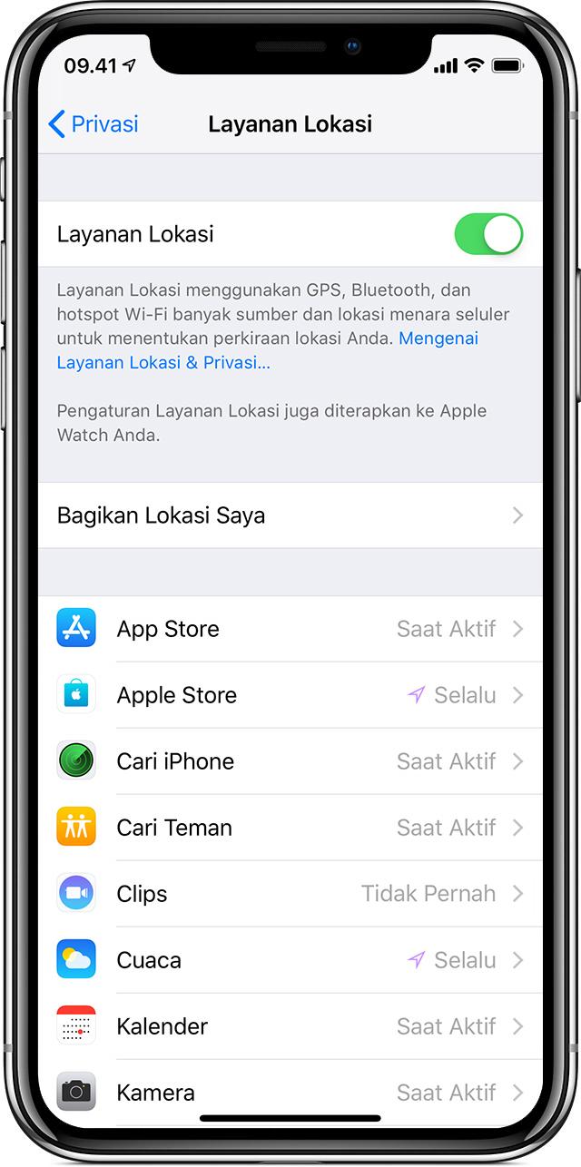 Menggunakan pemberitahuan di iPhone, iPad, dan iPod touch