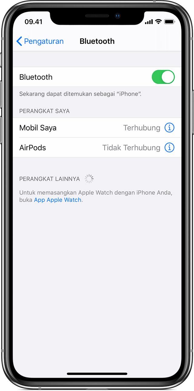 Memasangkan Aksesori Bluetooth Pihak Ketiga Dengan Iphone Ipad Atau Ipod Touch Apple Support
