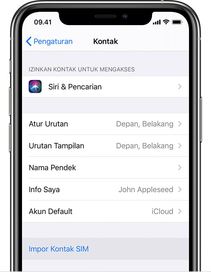 Cara memindahkan wa dari iphone ke android,mengimpor kontak dari kartu sim ke
